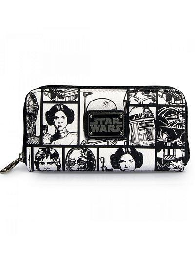 Quality STAR WARS STAR WARS COMIC PRINT WALLET BY LOUNGEFLY for sale