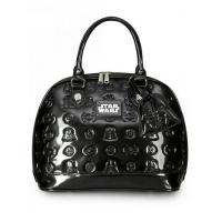 Wholesale STAR WARS STAR WARS DARTH VADER DARKSIDE PATENT EMBOSSED BAG BY LOUNGEFLY from china suppliers