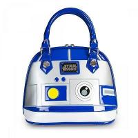 Wholesale STAR WARS STAR WARS R2D2 PATENT EMBOSSED BAG BY LOUNGEFLY from china suppliers