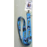 Wholesale The Smurfs Lanyard Keychain with Vertical Badge Holder from china suppliers