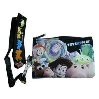 Wholesale isney TOY STORY Lanyard with Pouch Fastpass Tickets black Holder from china suppliers