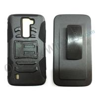 Wholesale Holster + Hybrid Kickstand Phone Cover Case For LG K7 from china suppliers