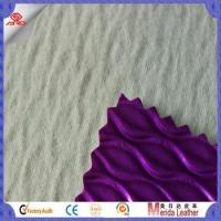 Wholesale New arrival fish skin single needle brush fabric textiles leather alibaba online from china suppliers