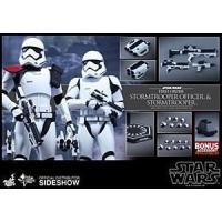 Wholesale Hot Toys Star Wars The Force Awakens Stormtrooper Officer/Stormtrooper 2 Pack from china suppliers