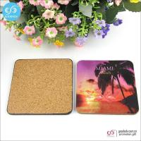 Wholesale Products 10*10cm MDF mats custom printed blank beer coasters cork coasters from china suppliers
