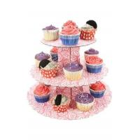 bread store 3 tiers cupcake stand pop small cake display