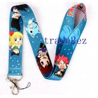 Wholesale 2016622112712FAIRY TAIL Anime Lanyard Blue from china suppliers
