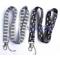 Wholesale 2016622113213Piano/Musical Note Logo lanyard from china suppliers