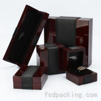 Wholesale Customized Lacquer Wood Jewelry Boxes FMH061 from china suppliers
