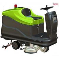 Wholesale dual-brush ride-on scrubber dryer from china suppliers