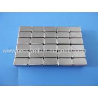Wholesale N30EH N33EH N35EH Permanent Strong Neodymium Motor Magnt Block from china suppliers