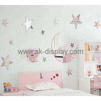 Wholesale Custom design acrylic wall sticker decoration star wars wall sticker mirror wall stickers MA-081 from china suppliers