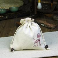 Wholesale Accept Custom Order Jute Drawstring Bags For Coffee Beans Packing from china suppliers