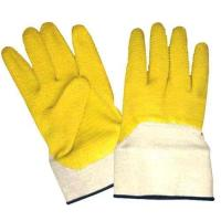Wholesale Latex Coated Jersey Shell Gloves, Crinkle, Safety Cuff from china suppliers