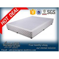 Wholesale convenient packing wooden knock down hotel bed base from china suppliers