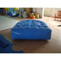 China Strong Style 0.6mm PVC Tarpaulin Air Tight Inflatable Mattress for Sale wholesale