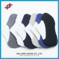Wholesale Cotton Fiber Low Cut No Show Hidden Invisible Men's Socks Liners from china suppliers