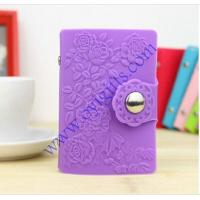 Wholesale Flower candy colors Silicone card case soft cover from china suppliers