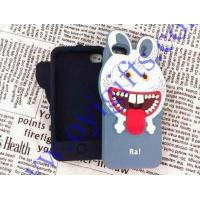Wholesale 3D Monster Sharp Tooth Rabbit Silicone phone cover from china suppliers