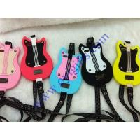 Wholesale Lovely Guitar Cartoon silicone phone cases from china suppliers
