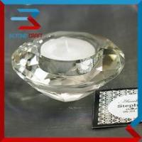 Wholesale Wholesale Wedding Giveaway Gifts Crystal Diamond Tea light Holder from china suppliers