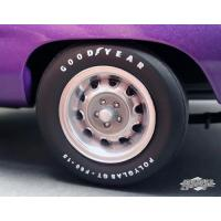 China 1970 Plymouth Road Runner Rally Wheels and Tires Set of 4 Pack 1/18 by GMP wholesale