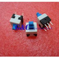 20PCS 8X8mm Blue Cap Self-locking Type Square Button Switch NEW GOOD QUALITY SW1