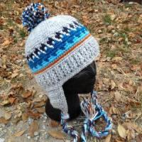 Wholesale CROCHET HAT PATTERN Kid's Old School Beanie from china suppliers