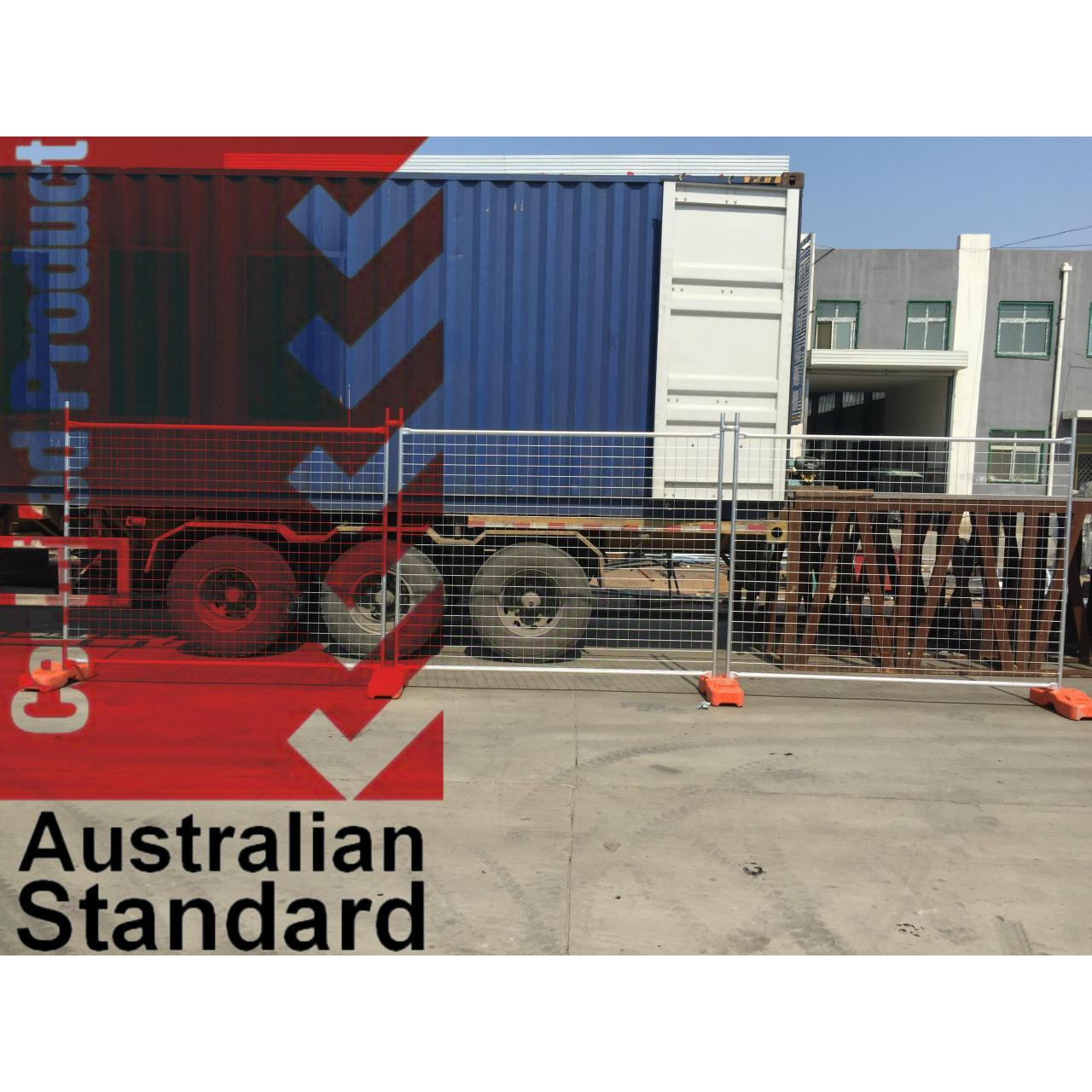 Wholesale Economic Temporary Fence For Sales Business -17 Microns Zinc Layer HDG before Weld from china suppliers