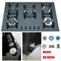 Wholesale RD-BI058 Glass top 5 burner gas hob from china suppliers