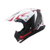 Wholesale MT Syncrony Steel Adult MX Helmet Red/White from china suppliers