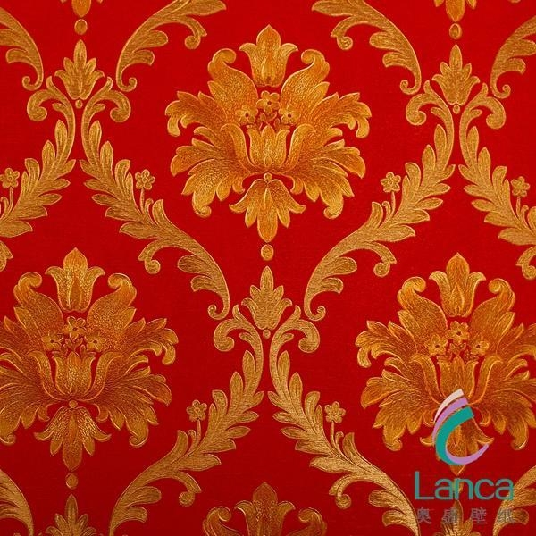 Good sale flower cheap vinyl wallpaper lcpe1320101 of for Cheap wallpaper for sale