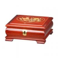 Wholesale Glossy Lacquer Wooden Jewelry Music Box with Lock from china suppliers