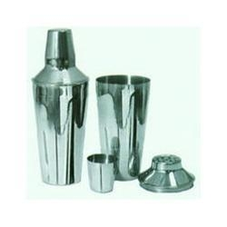 Quality Stainless Steel Bar Shaker Set 3 Piece 28 Oz. - Each for sale