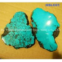Natural turquoise slices quality natural turquoise slices for sale