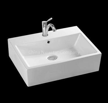 Bathroom Sink Top Mount : sell top mount ceamic sinks bathroom sink ( basin ) of newstarzoe-b11