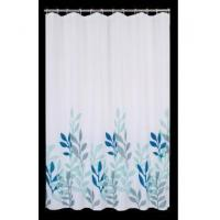 Fabric Shower Curtains Chinese Picture Waterweed Shower Curtain T3008