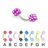 Wholesale Acrylic Body Jewelry 1210BK from china suppliers