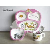Wholesale Melamine 5pcs Feeding Sets Deer from china suppliers