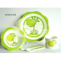 Wholesale Melamine 5pcs Feeding Sets Pony from china suppliers