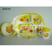 Wholesale Melamine 5pcs Feeding Sets Cat from china suppliers