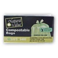 Wholesale Trash Bags Natural Value Compostable Trash Bags from china suppliers