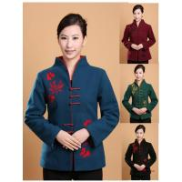 Wholesale 4 Colors Cashmere Winter Women Coat from china suppliers