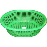 "Wholesale 2395 - PLASTIC BREAD BASKET 3 ASST COLORS (13""X10"" L x W 3 ASST COLORS) from china suppliers"