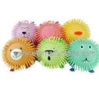 Animal Six Assorted Puffer Ball