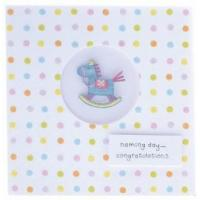 Wholesale Naming Day Card - Rocking Horse from china suppliers