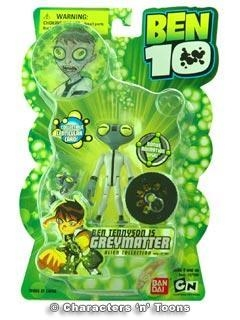 Quality Ben 10 Action Figure Greymatter for sale