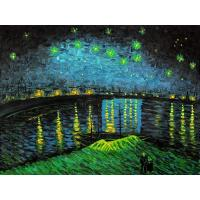 an analysis of the oil painting of starry night over the rhone by vincent van gogh Vincent van gogh is deservedly famous for the series of starry sky paintings he produced in arles in 1888 the four famous starry sky paintings, starry night over the rhone, starry night, caf terrace and portrait of eugene boch, form a series of stark and visually powerful works that celebrate.