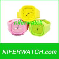 Wholesale Silicone Jelly Watch from china suppliers