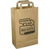 China Recycled Paper Carrier Bags wholesale